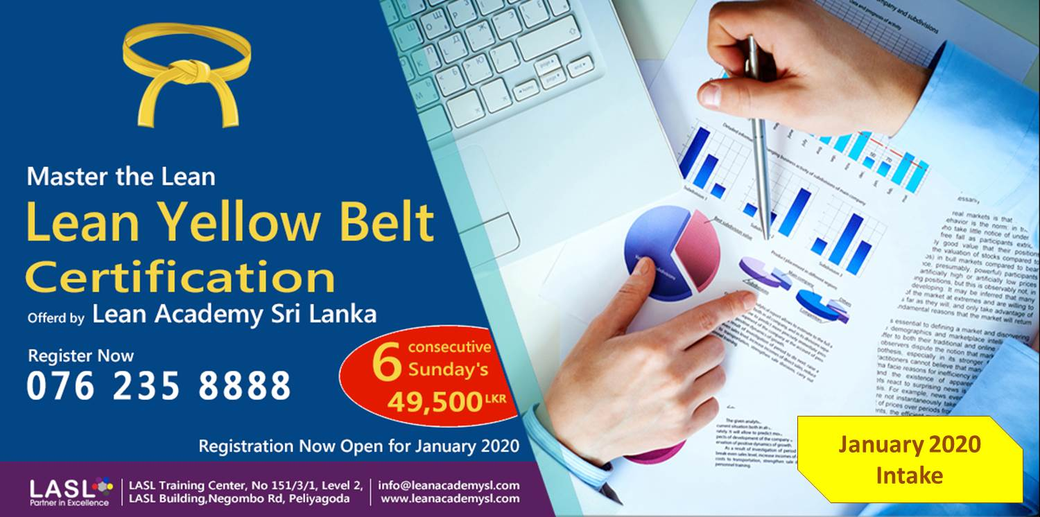 Lean Yellow Belt Certification | January 2020 Intake