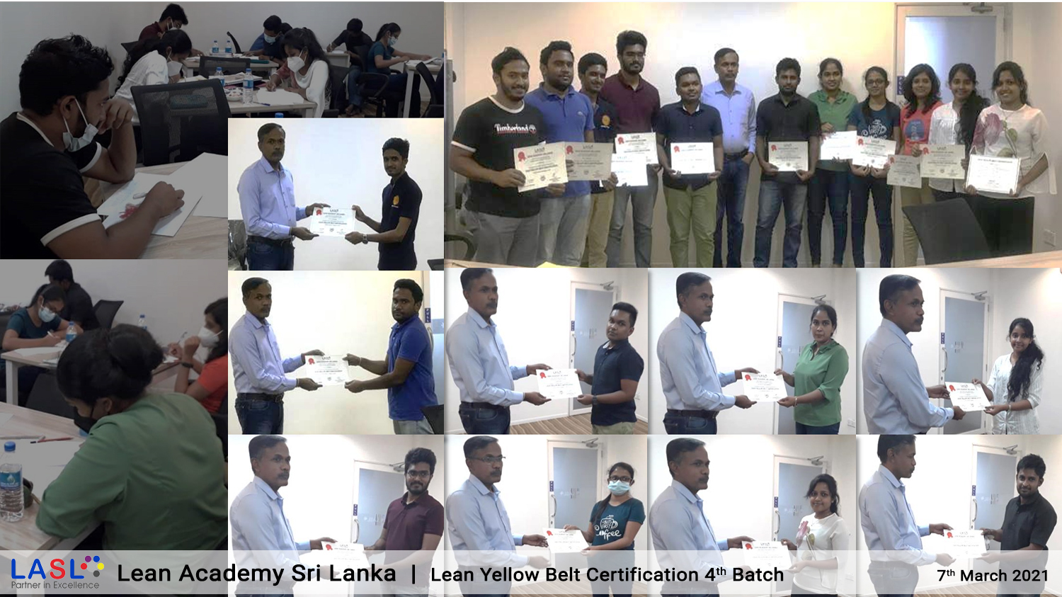 Lean Yellow Belt Certification 4th program